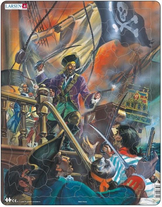 Larsen puzzel- Piraten- FL1