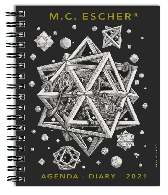 M.C. Escher weekagenda 2021