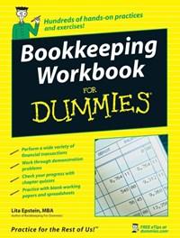 Bookkeeping Workbook For Dummies | Lita Epstein |