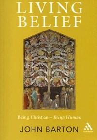 Living Belief   John Barton  