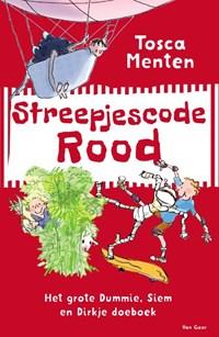 Streepjescode Rood   Tosca Menten  