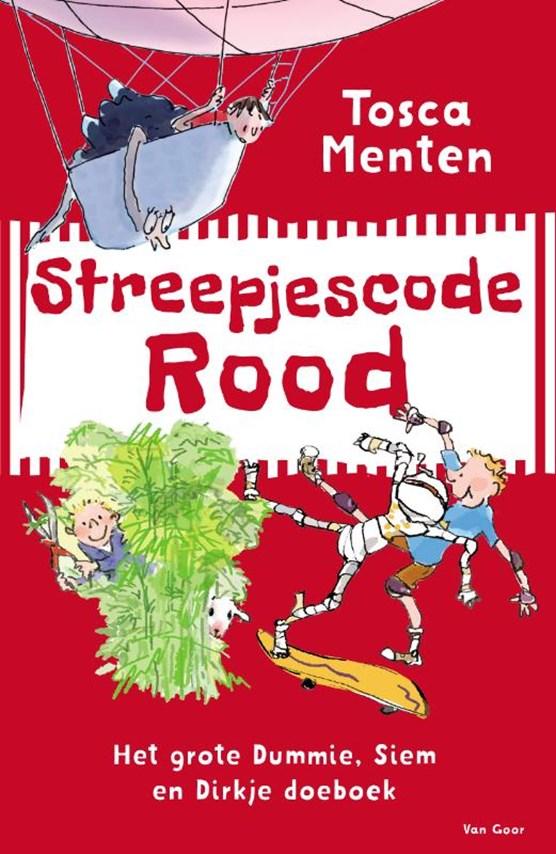 Streepjescode Rood