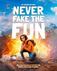 Never fake the fun – het Kwebbelkop boek | Jordi van den Bussche ; Jay Sacher |