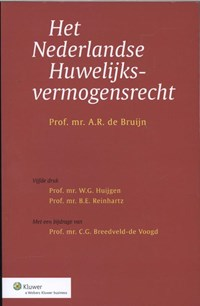 Het Nederlandse huwelijksvermogensrecht   A.R. de Bruijn  