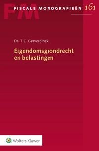 Eigendomsgrondrecht en belastingen | T.C. Gerverdinck |