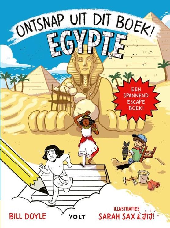 Ontsnap uit dit boek-Egypte