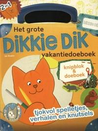 Dikkie Dik : Het grote Dikkie Dik vakantiedoeboek | Jet Boeke |