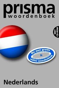 Prisma woordenboek Nederlands nieuwe spelling + CD-ROM | A.A. Weijnen & A.F.G.M.A. Ficg-Weijnen |