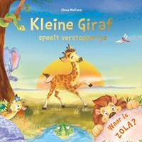 Kleine Giraf speelt verstoppertje | Elke Doelman |