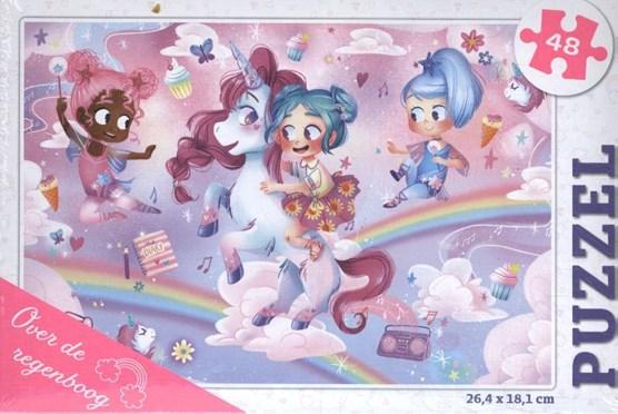 Over de regenboog - puzzel 48 stukjes