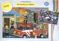 We komen je redden! - puzzel 2 x 24 stukjes | auteur onbekend |