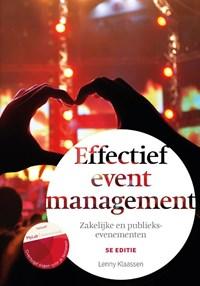 Effectief eventmanagement, 5e editie met MyLab NL toegangscode | Lenny Klaassen |