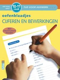 Oefenblaadjes rekenen 10-11 jaar cijfers en bewerkingen vijfde leerjaar groep 7   G. Heymans  