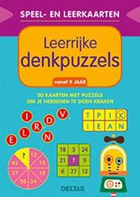 Speel- en leerkaarten - Leerrijke denkpuzzels (vanaf 9 jaar) | Znu |