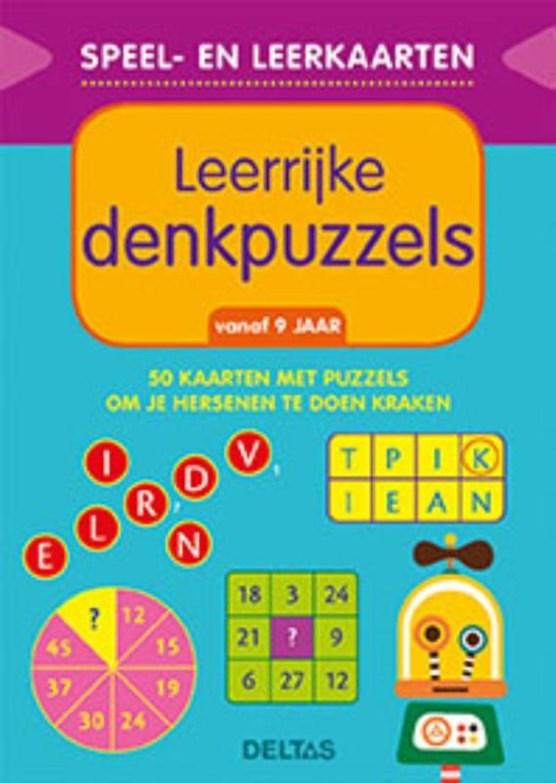 Speel- en leerkaarten - Leerrijke denkpuzzels (vanaf 9 jaar)
