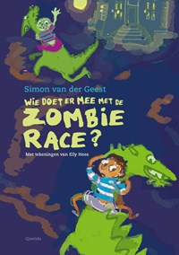 Wie doet er mee met de zombie-race?   Simon van der Geest  