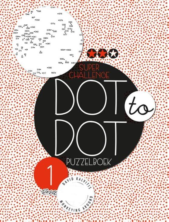 Dot to dot puzzelboek Super challenge deel 1
