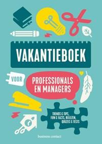 Vakantieboek voor professionals en managers 2020   . (red.)  