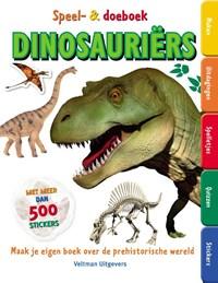 Speel- en doeboek Dinosauriërs | James Mitchem |