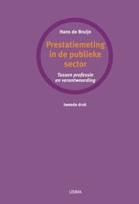 Prestatiemeting in de publieke sector   J.A. de Bruijn  