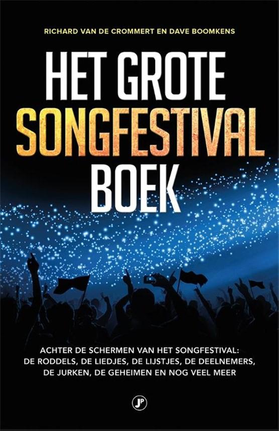 Het grote songfestival boek