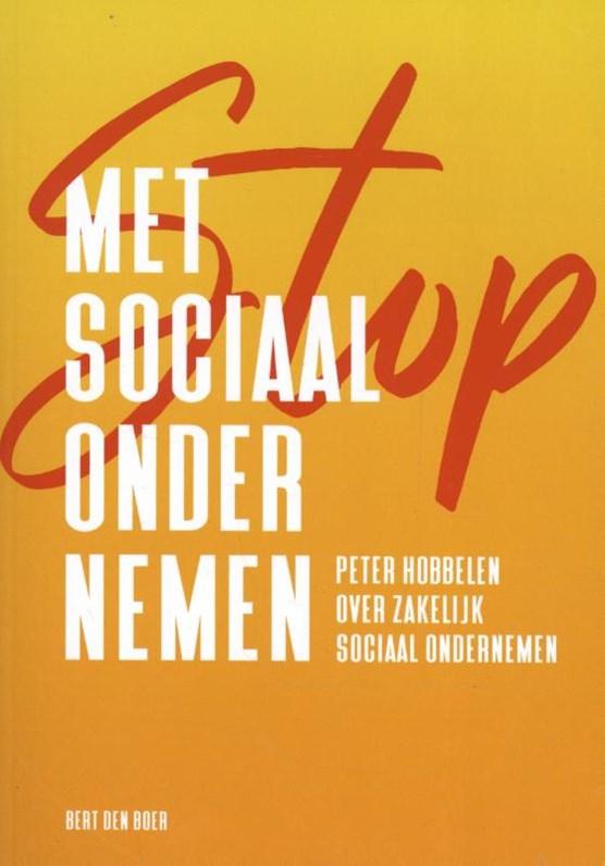 Stop met sociaal ondernemen