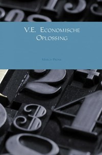 V.E. Economische oplossing   March Pronk  