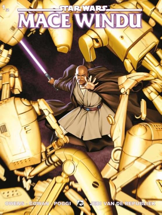 Star wars mini serie 01. mace windu 1/2