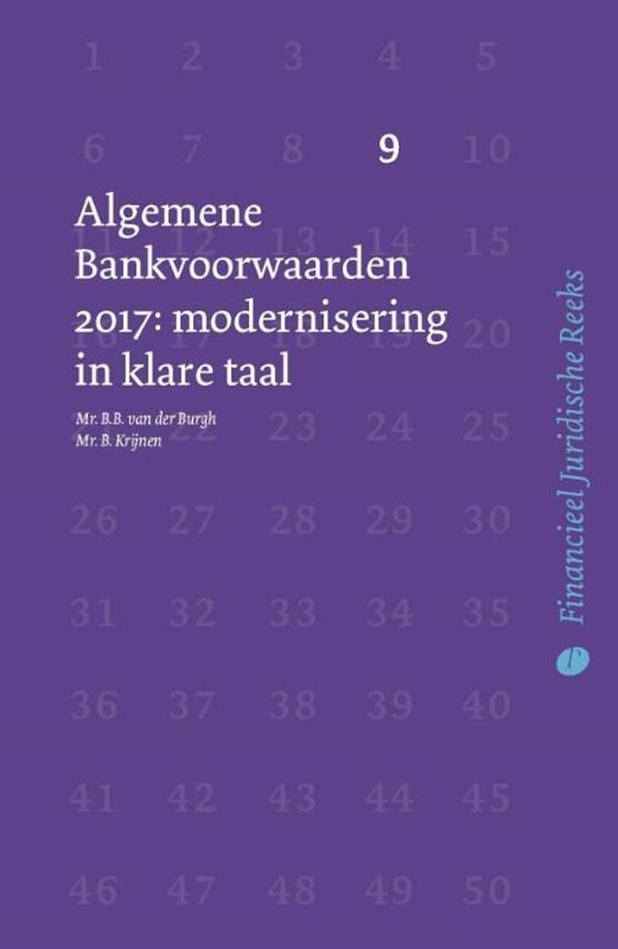 Algemene Bankvoorwaarden 2017
