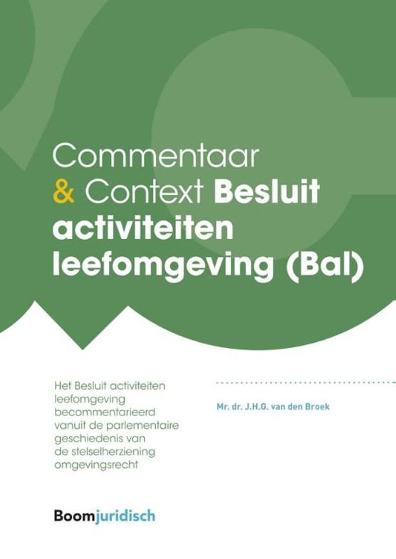 Besluit activiteiten leefomgeving (Bal)