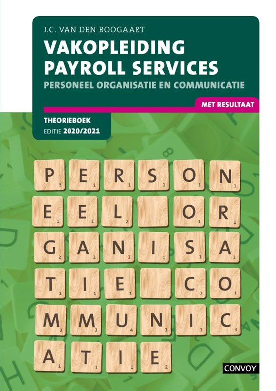 VPakopleiding Payrol Services 2020-2021 Theorieboek