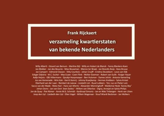 Verzameling kwartierstaten van bekende Nederlanders