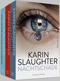 Pakket - Nachtschade ; Zoenoffer ; Een lichte koude huivering | Karin Slaughter |