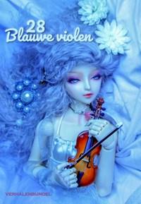 28 Blauwe violen | auteur onbekend |