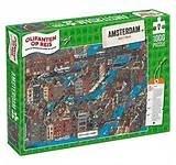 Puzzel Olifanten op reis Amsterdam (Halte 2 van 16) | Eurographics | 7777777777823