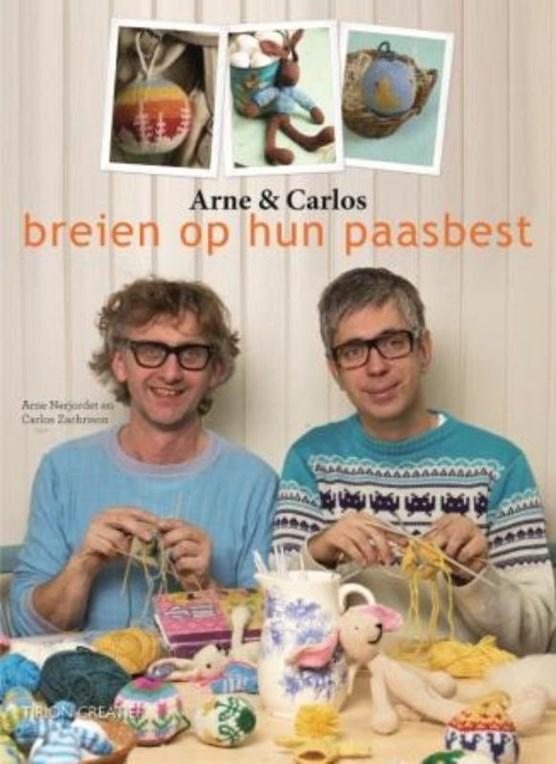Arne en Carlos op hun paasbest